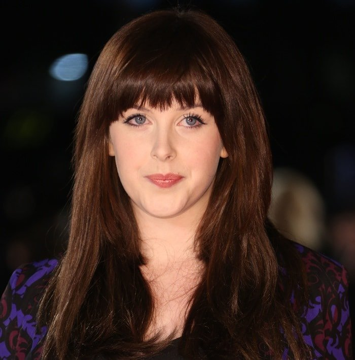 """Alexandra Roach wears her hair down at the European premiere of """"I Give It a Year"""""""
