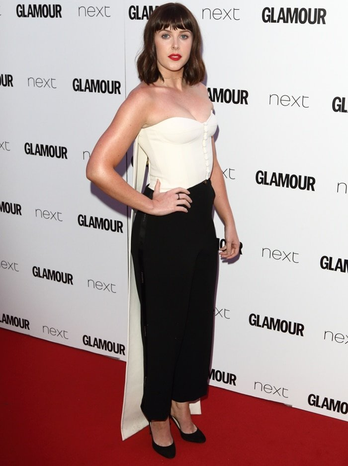 Alexandra Roach attends the Glamour Women of The Year awards 2017 at Berkeley Square Gardens on June 6, 2017 in London, England
