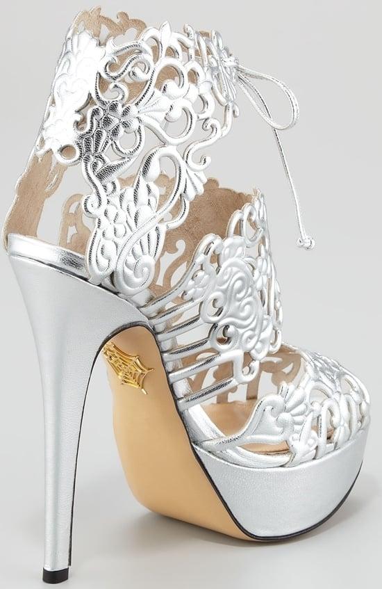 Belinda Lace Bootie Sandal