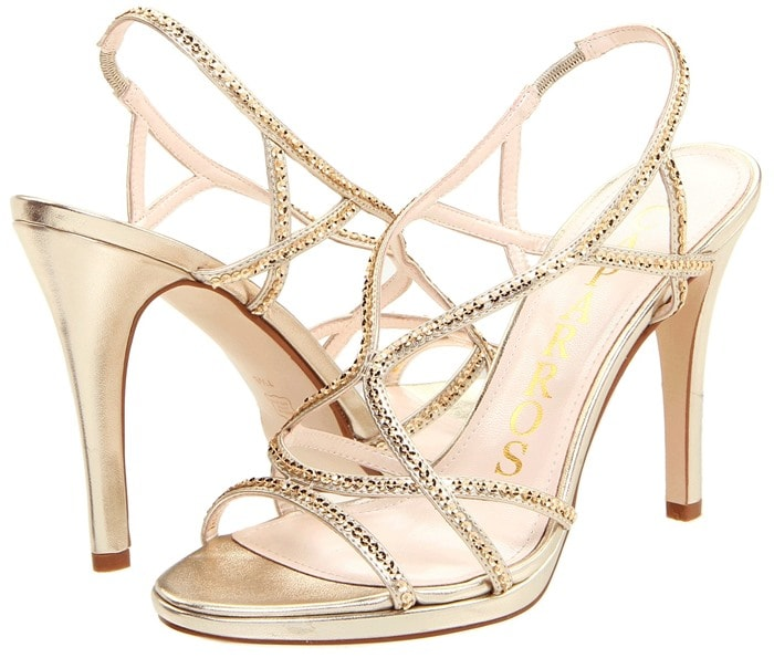 Caparros 'Zarielle' Sandals in Gold,