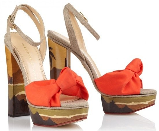"Charlotte Olympia ""Bahia"" Sandals"