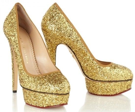 Charlotte Olympia Priscilla Gold