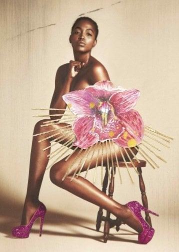 Charlotte Olympia Priscilla on Model