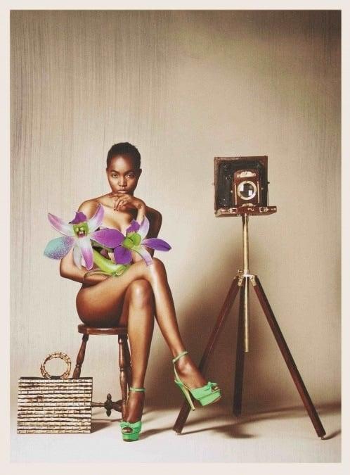 Charlotte Olympia Serena on Model