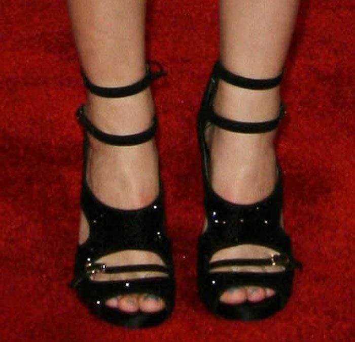 Emma Watson in Tabitha Simmons shoes