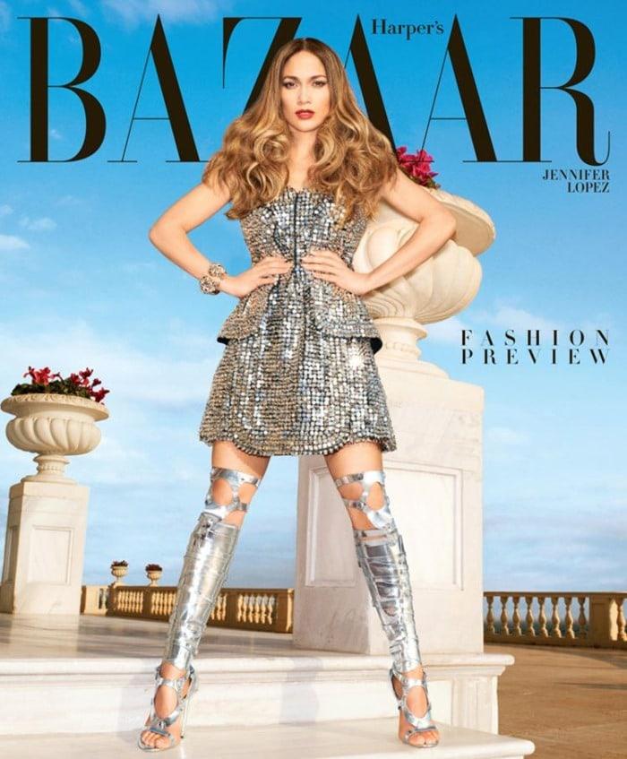 Harper's Bazaar Jennifer Lopez 2013