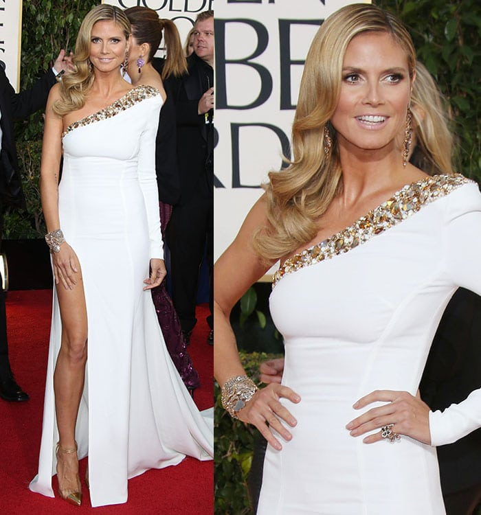 Heidi-Klum-Alexandre-Vauthier-dress-Golden-Globe-2013