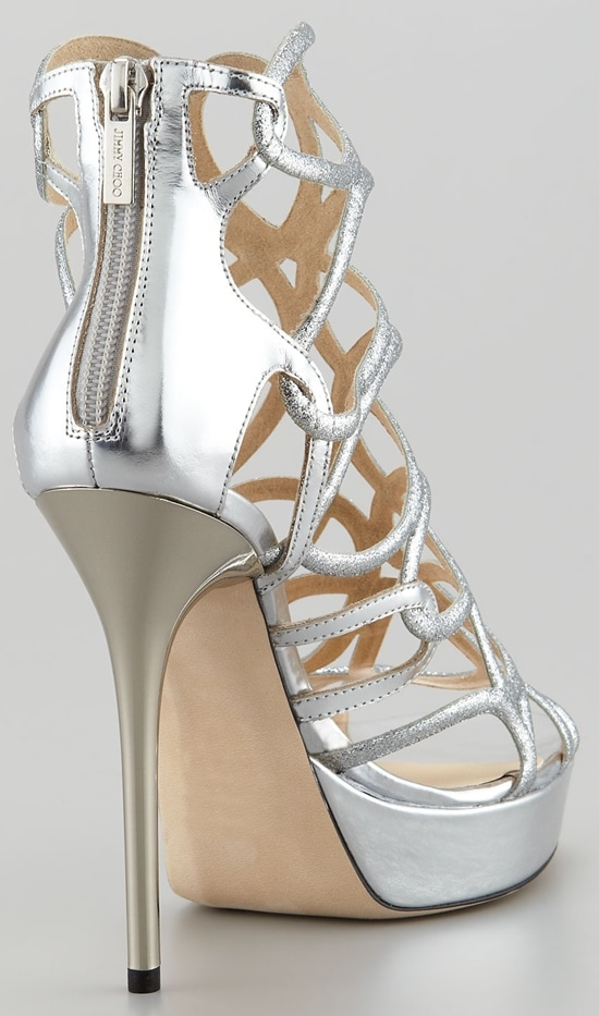 Jimmy Choo Brazil Glitter Sandal
