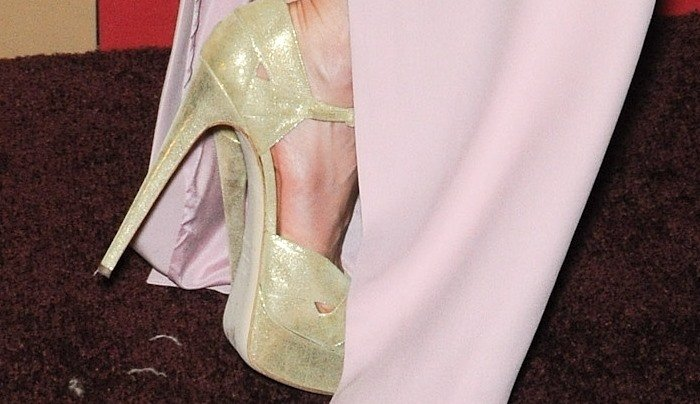 "Kate Beckinsale in Brian Atwood ""Aida"" Heels"