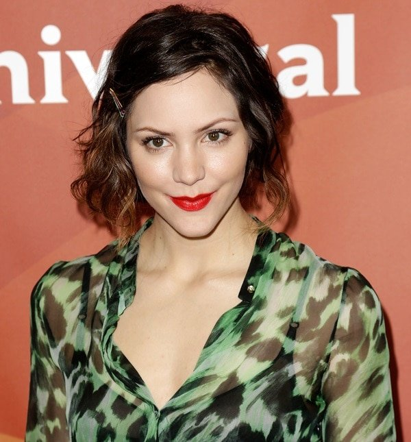 Katharine McPhee loves a sexy dress and sultry red lips for the red carpet