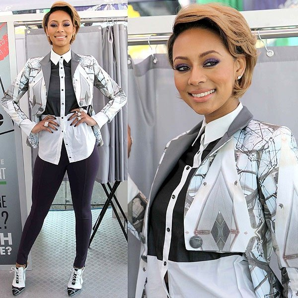 """Keri Hilson attends the Gillette """"Kiss and Tell"""" event"""