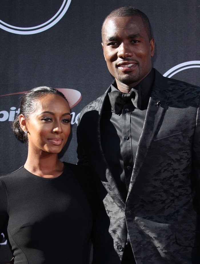 Keri Hilson and Serge Ibaka dated from October 2012 to November 2016