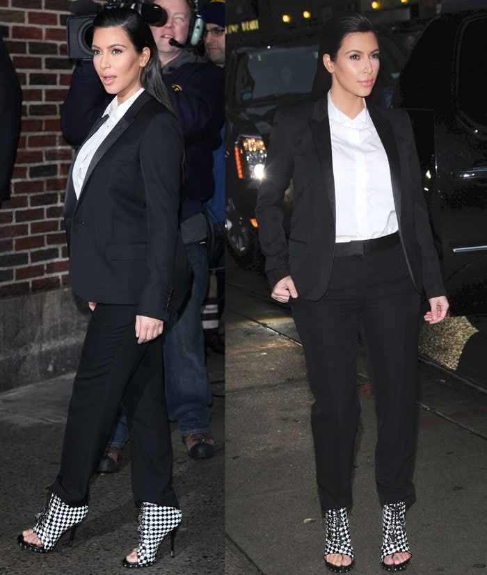Celebrities at the Ed Sullivan Theater for 'The Late Show with David Letterman'