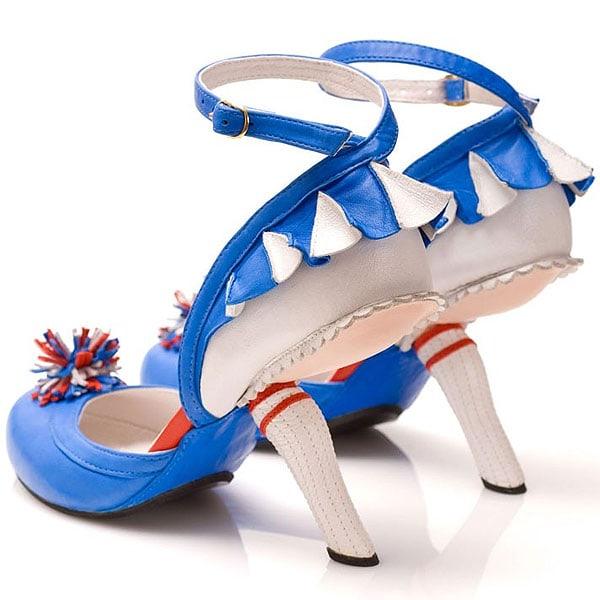 Kobi Levi Cheerleader shoes in blue