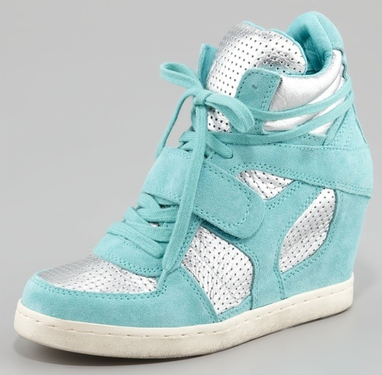 Luxury Rebel Cool Bis Two-Tone Wedge Sneaker $265.00