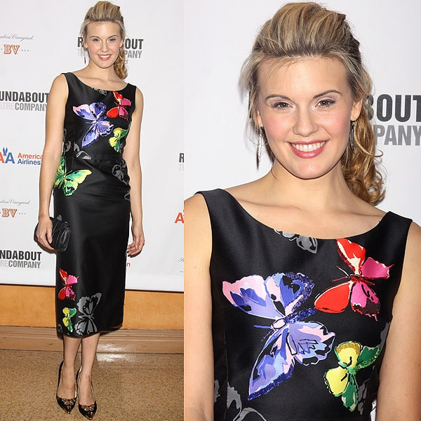 Maggie Grace at the opening night after-party for 'Picnic' at the American Airlines Theatre in New York City on January 13, 2013