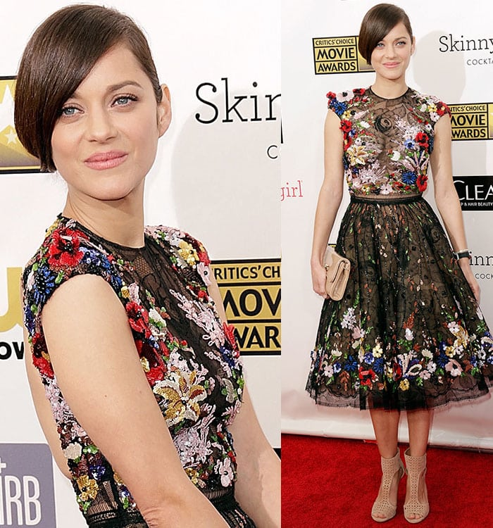 Marion-Cotillard-Critics-Choice-Movie-Awards-2013