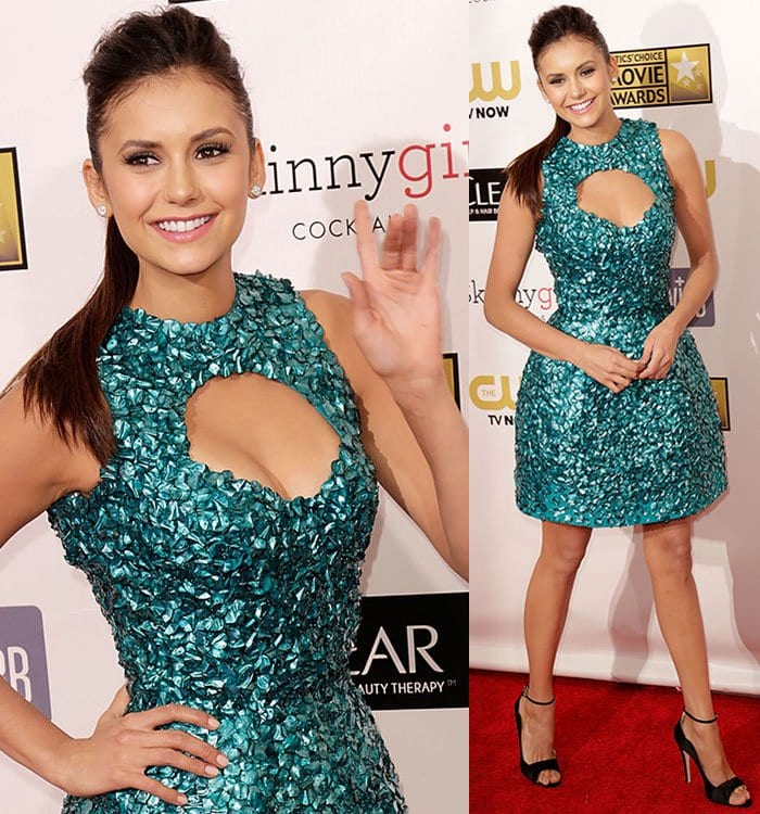 Nina-Dobrev-Critics-Choice-Movie-Awards-2013