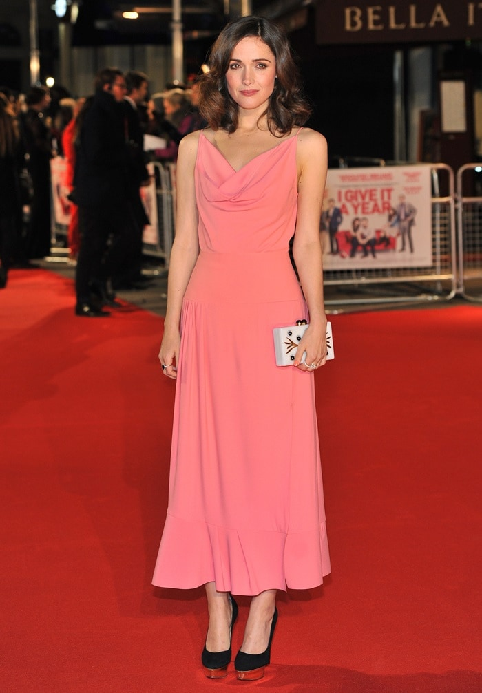 Rose Byrne at the European Premiere of 'I Give It A Year' at Vue West End