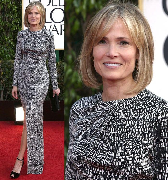 Willow-Bay-printed-dress-Golden-Globe-2013