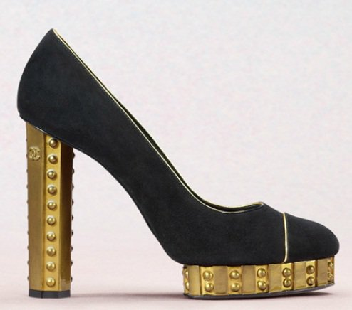 chanel cruise 2013 pumps