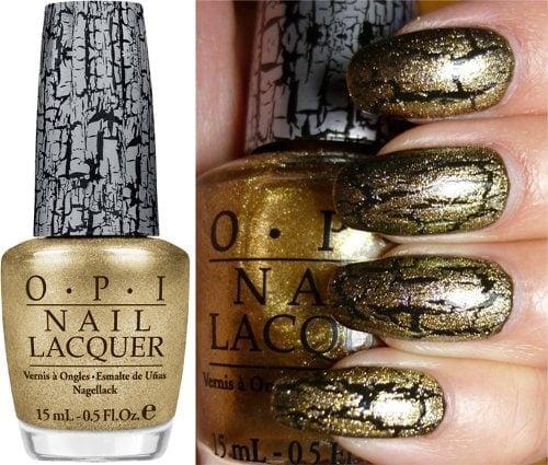 Opi Gold Shatter
