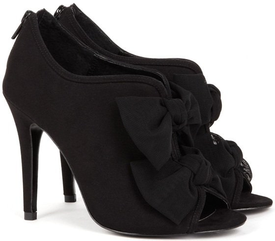 Sole Society 'Caroline' Booties in black