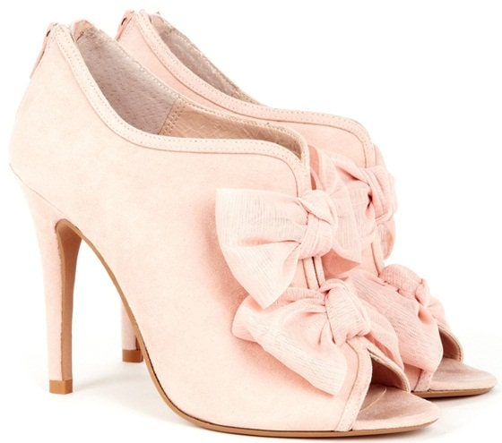 Sole Society 'Caroline' Booties in blush