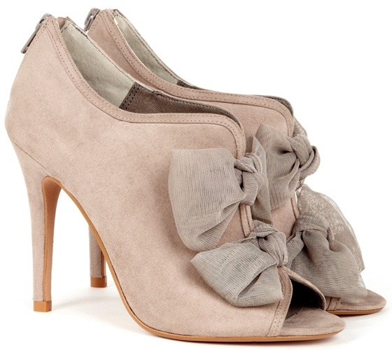 Sole Society 'Caroline' Booties in taupe
