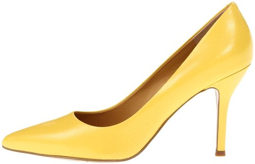 nine west flax in yellow