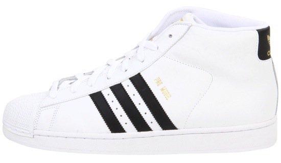 White Adidas Originals Pro Model Sneakers
