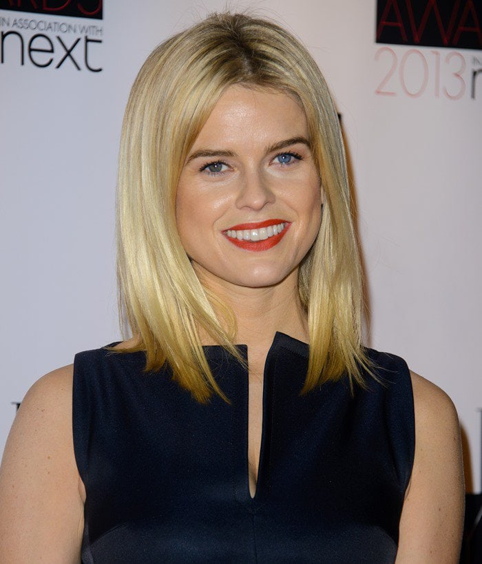 English-American actress Alice Eve attends the Elle Style Awards