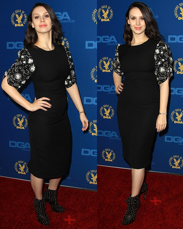 Alixandra von Renner at the 65th Annual Directors Guild Of America Awards at Ray Dolby Ballroom