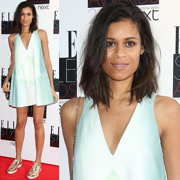 Singer-songwriter Aluna Francis attends the Elle Style Awards