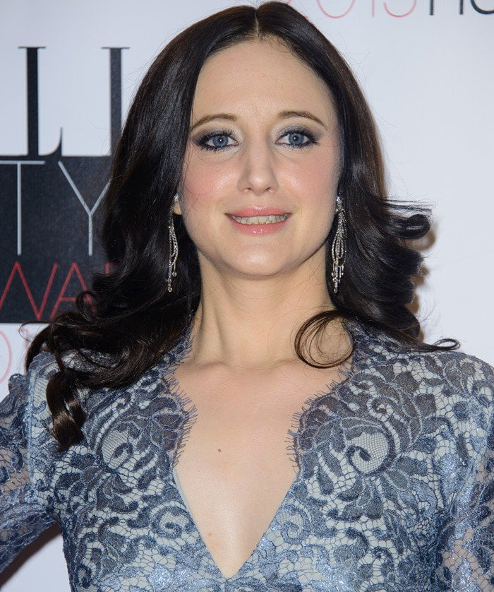 English actress Andrea Louise Riseborough attends the Elle Style Awards