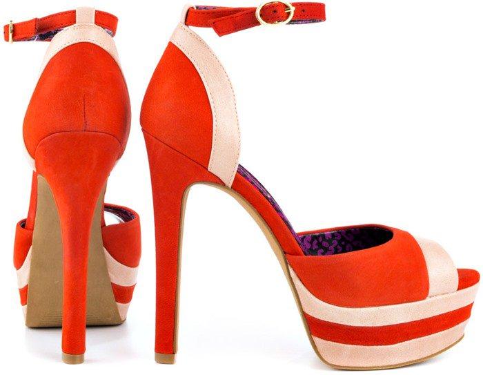 Jessica Simpson Arnold Ankle Strap Peep-Toe Platform Sandals