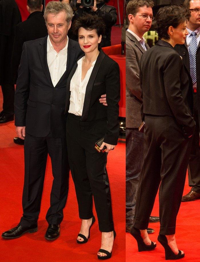 Bruno Dumont and Juliette Binoche