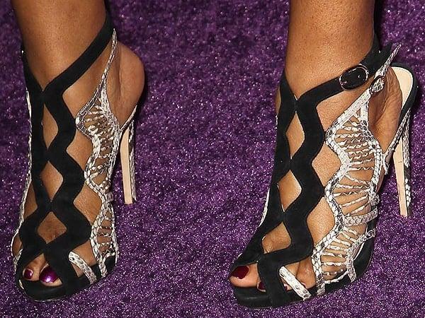 Candice Nelson Alexandre Birman sandals