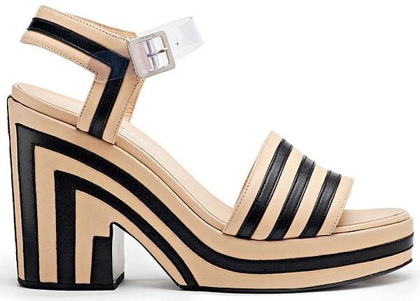 Chanel-Spring-2013-striped-platform-sandals