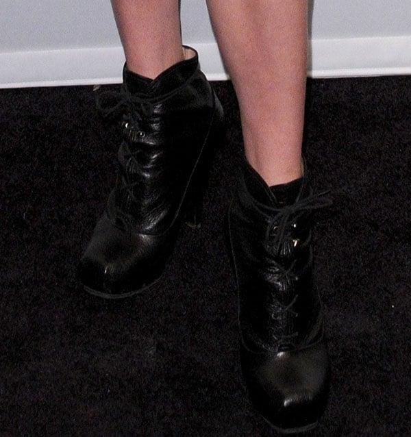 Chloe Sevigny in Proenza Schouler Boots