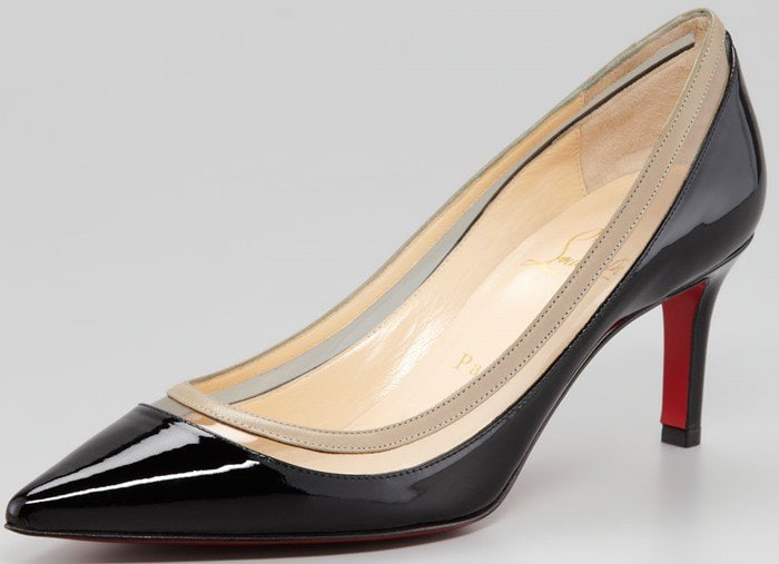 Christian Louboutin 'Paulina' Pointed Toe Red Sole Pump