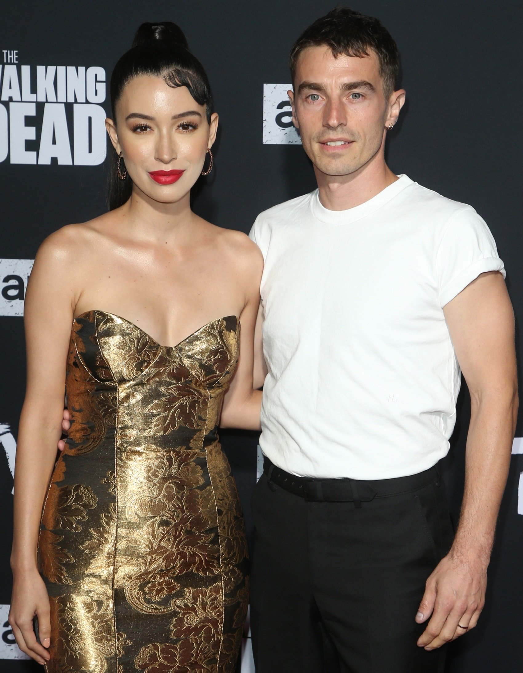 Christian Serratos had a daughter named Wolfgang in 2017 with her husband, New Politics singer David Boyd