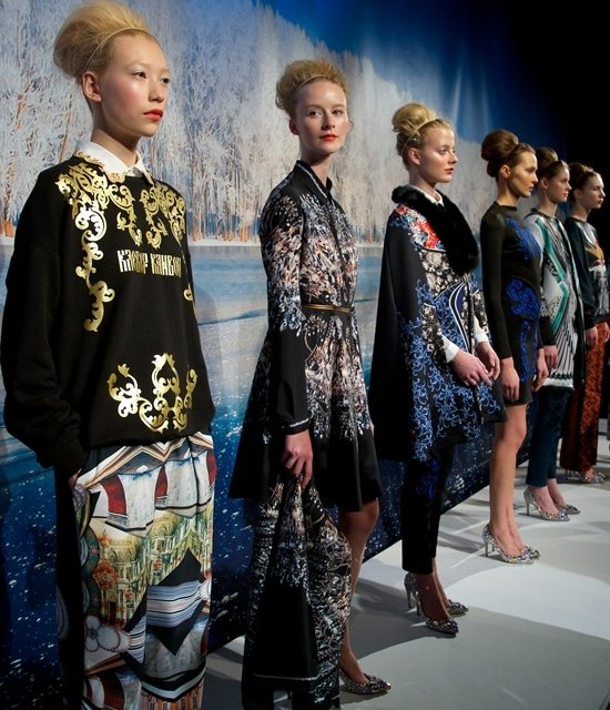 """The """"Winter Palace"""" by Rozae Nichols for Clover Canyon (Autumn/Winter 2013), Mercedes-Benz New York Fashion Week"""