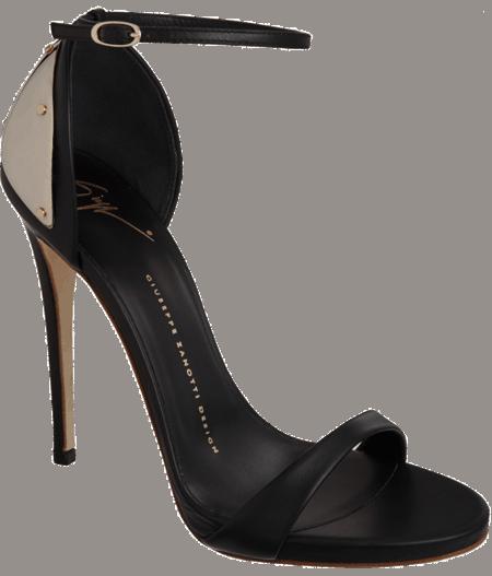Giuseppe Zanotti Plated Heel Sandals