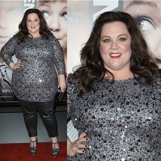 Melissa McCarthy arrives at the Los Angeles premiere of 'Identity Thief' held at Mann Village Theatre on February 4, 2013 in Westwood, California