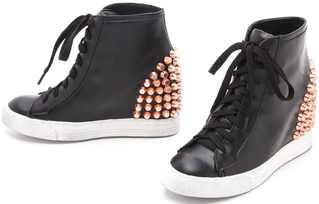 Jeffrey Campbell 'Edea' Stud Wedge Sneakers