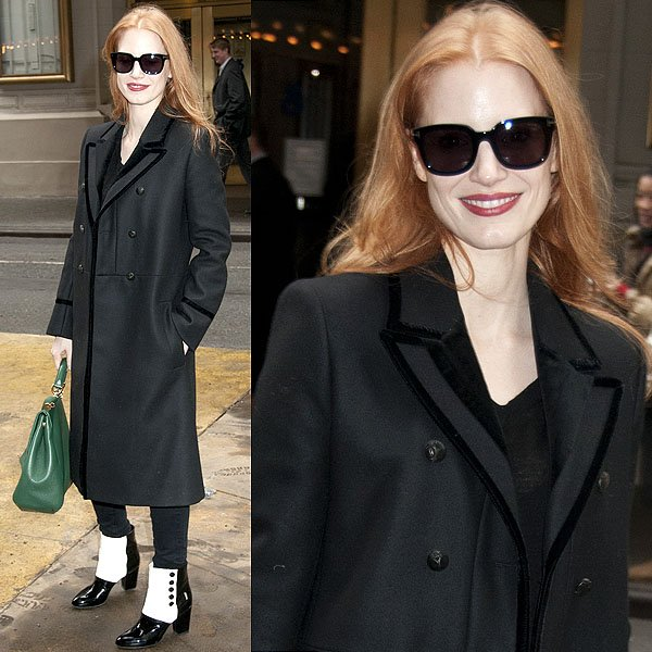 Jessica Chastain The Heiress matinee