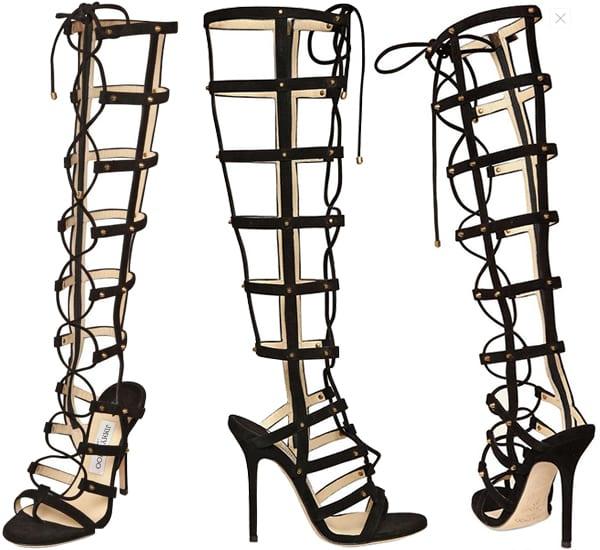 Jimmy Choo Mogul Gladiator Sandal Boot1