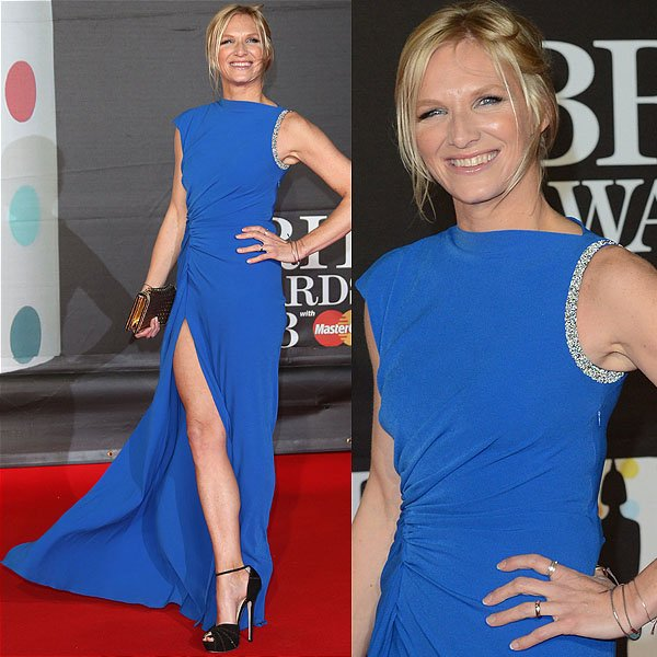 Jo Whiley 2013 Brit Awards