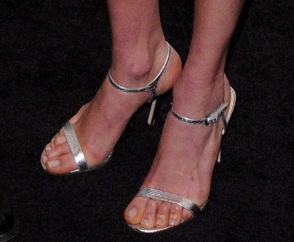 Karlie Kloss in Michael Kors Mikaela Sandals
